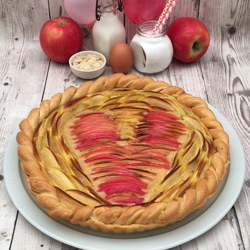 Tarte aux pommes d'amour