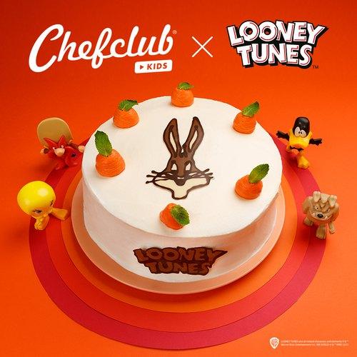 Gâteau aux pêches et abricots Bugs Bunny
