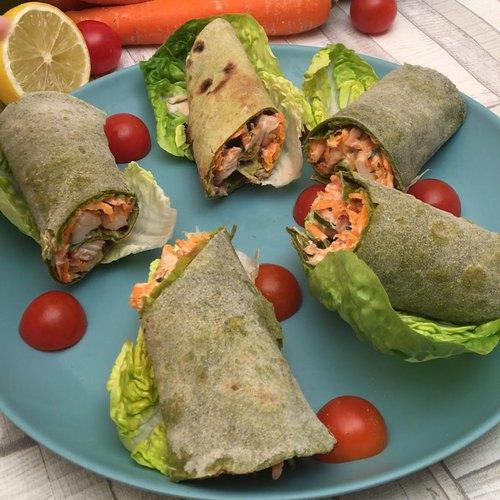 Chicken Spinach Wrap