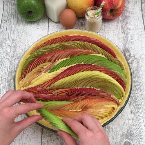 La tarte pomme-poire