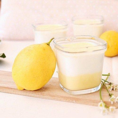 Yaourt à la crème aux citrons