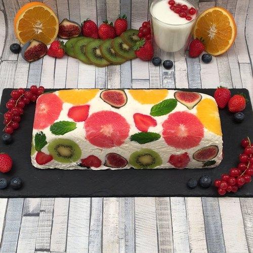 Fantasy Ice Cream Cake