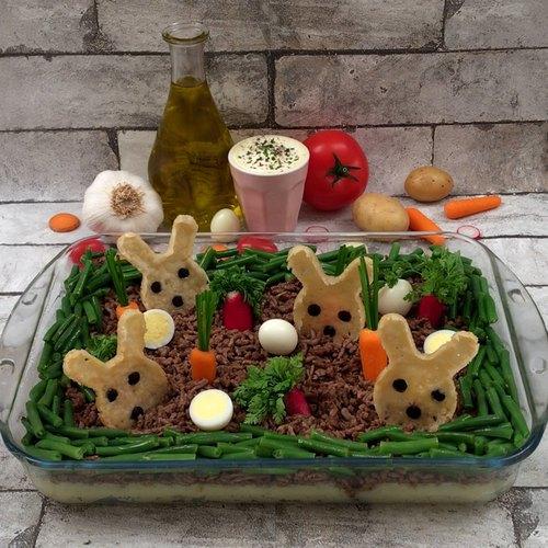 Kartoffel-Garten für Kinder