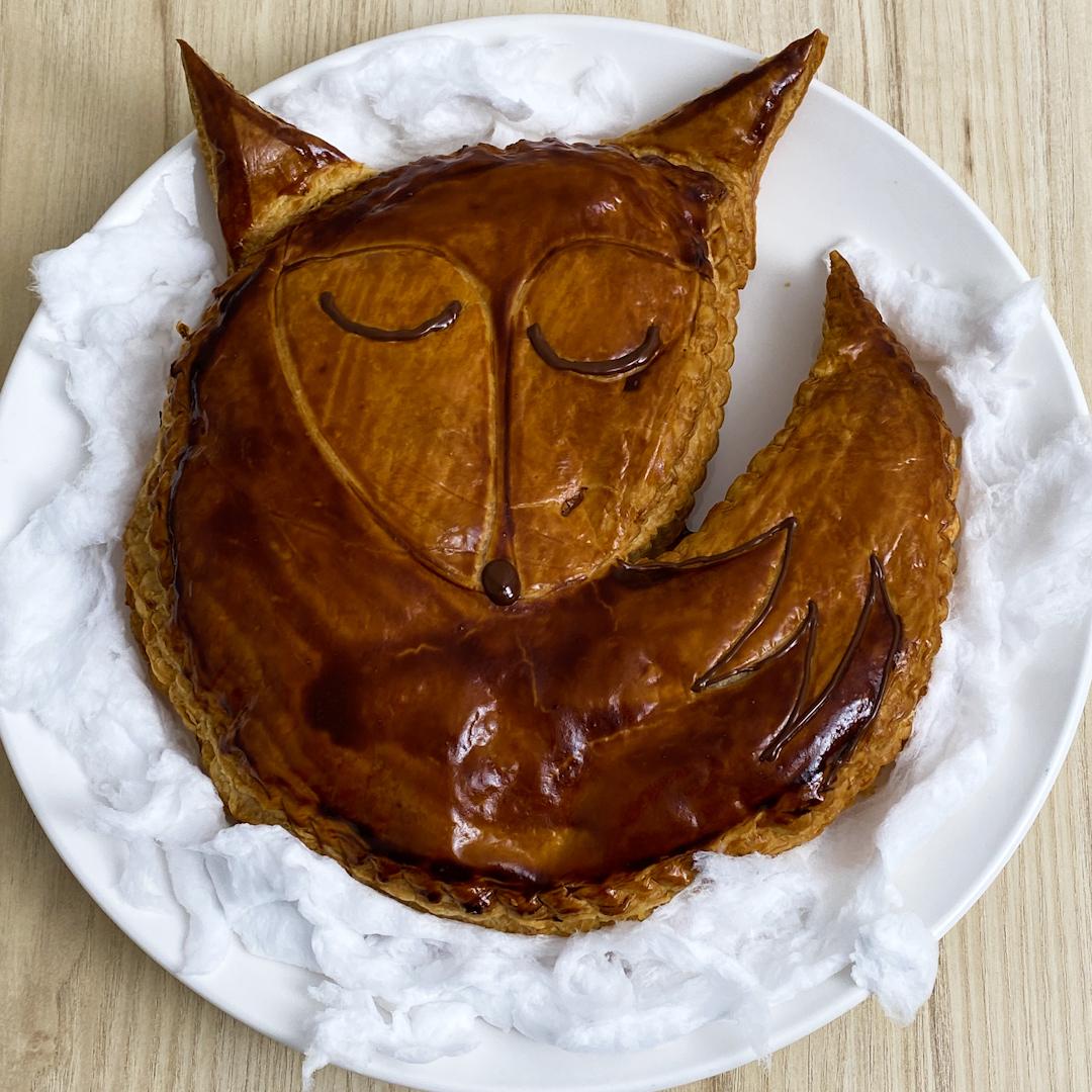 Torta folhada da raposa