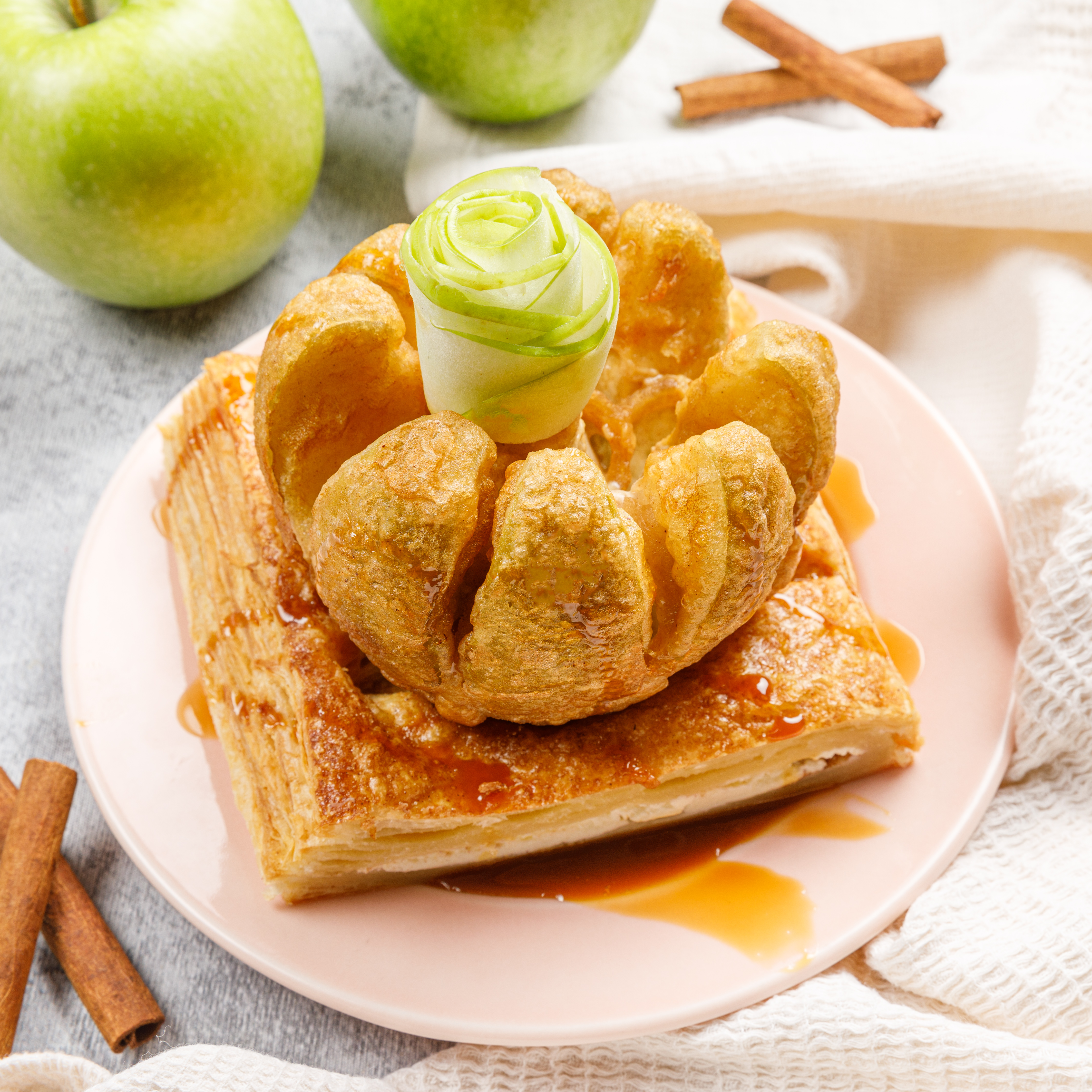 Cinnamon Apple Slab