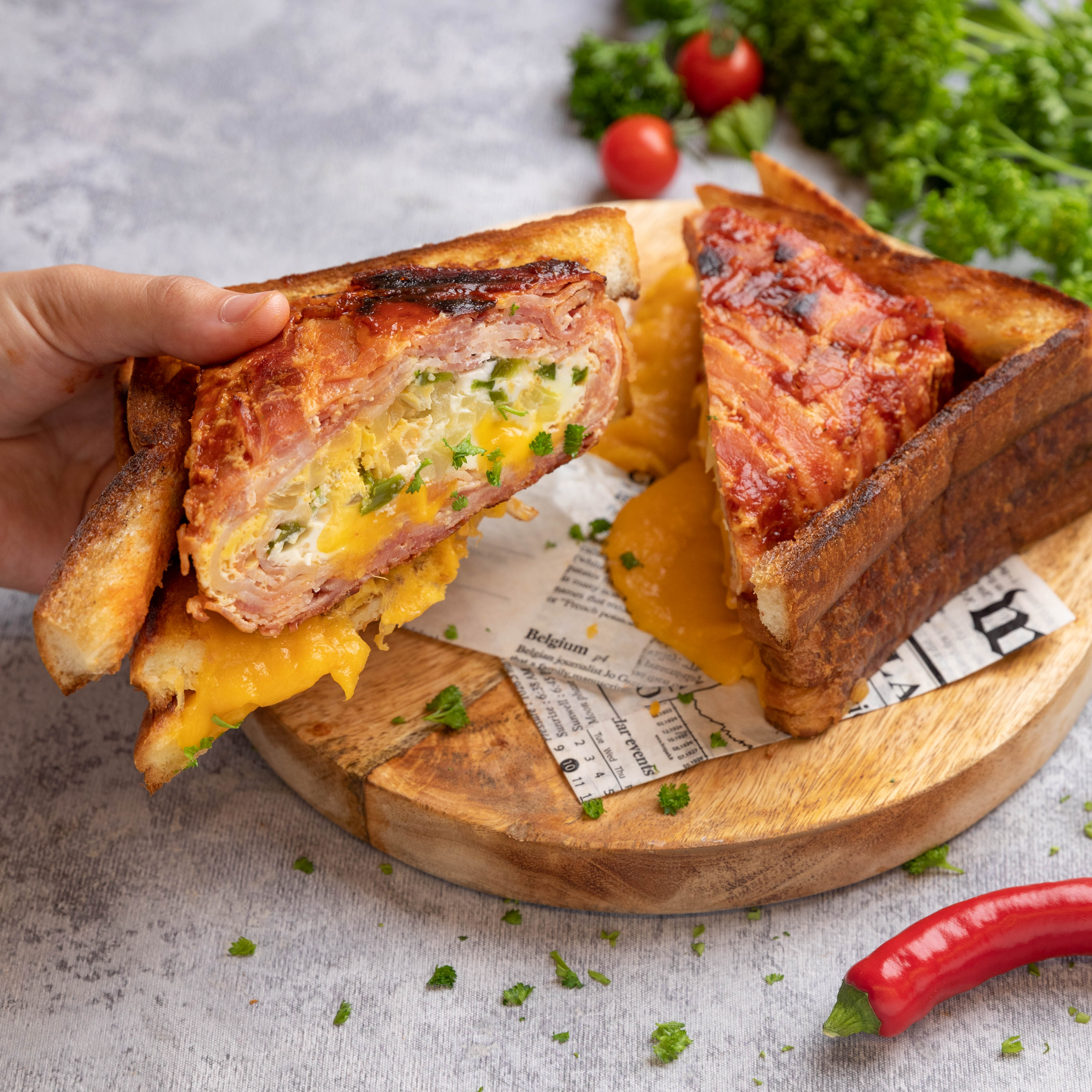 Grilled Cheese Box