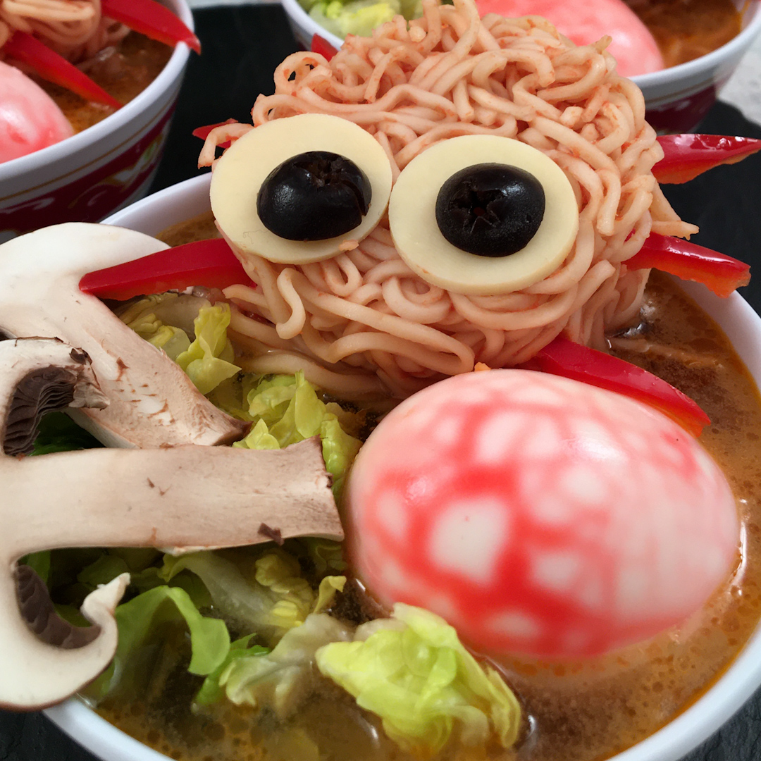Creepy-Crawly Ramen!