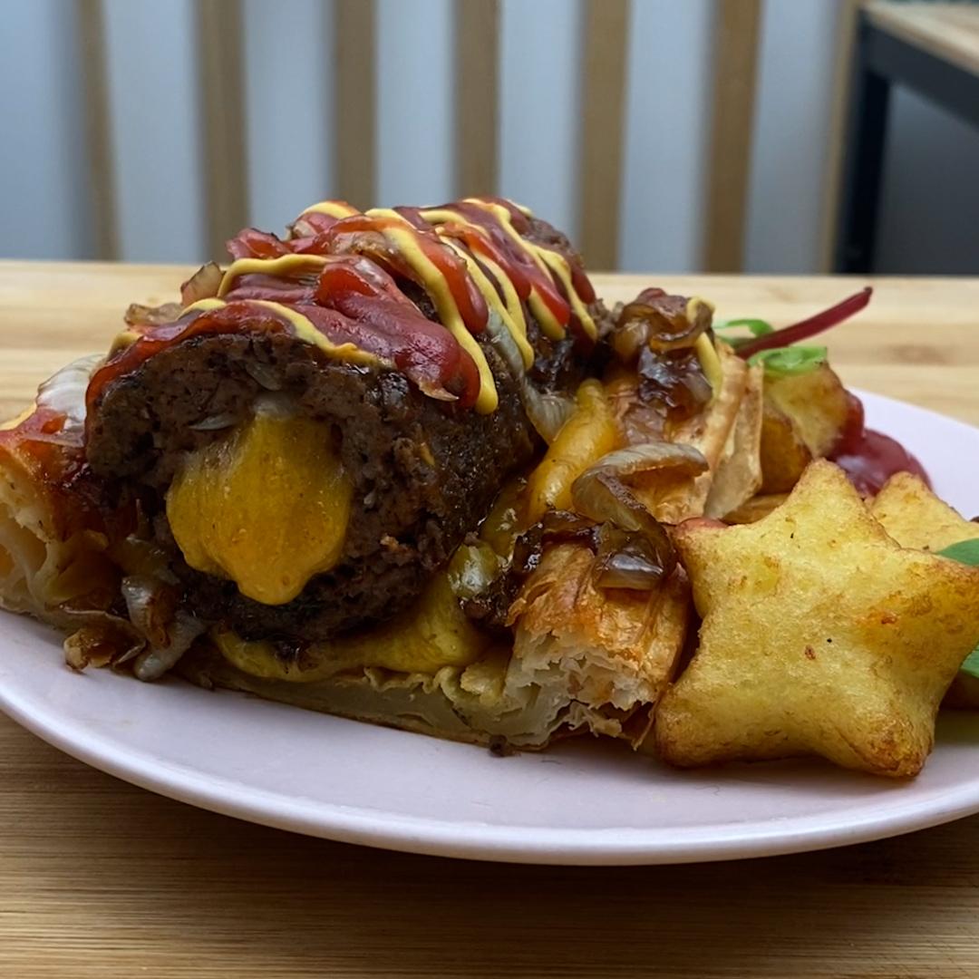 Blätterteig-Burger