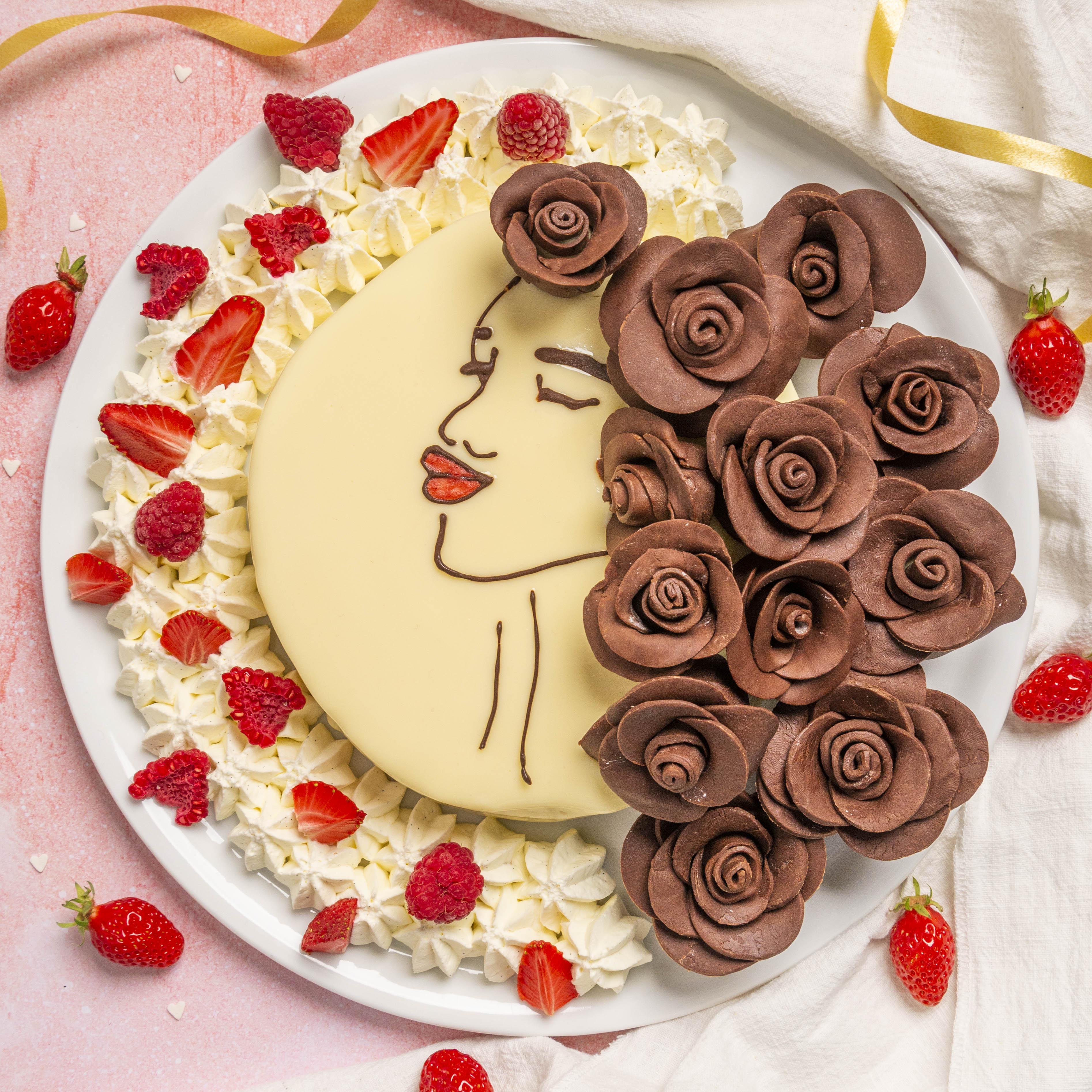 Gâteau portrait