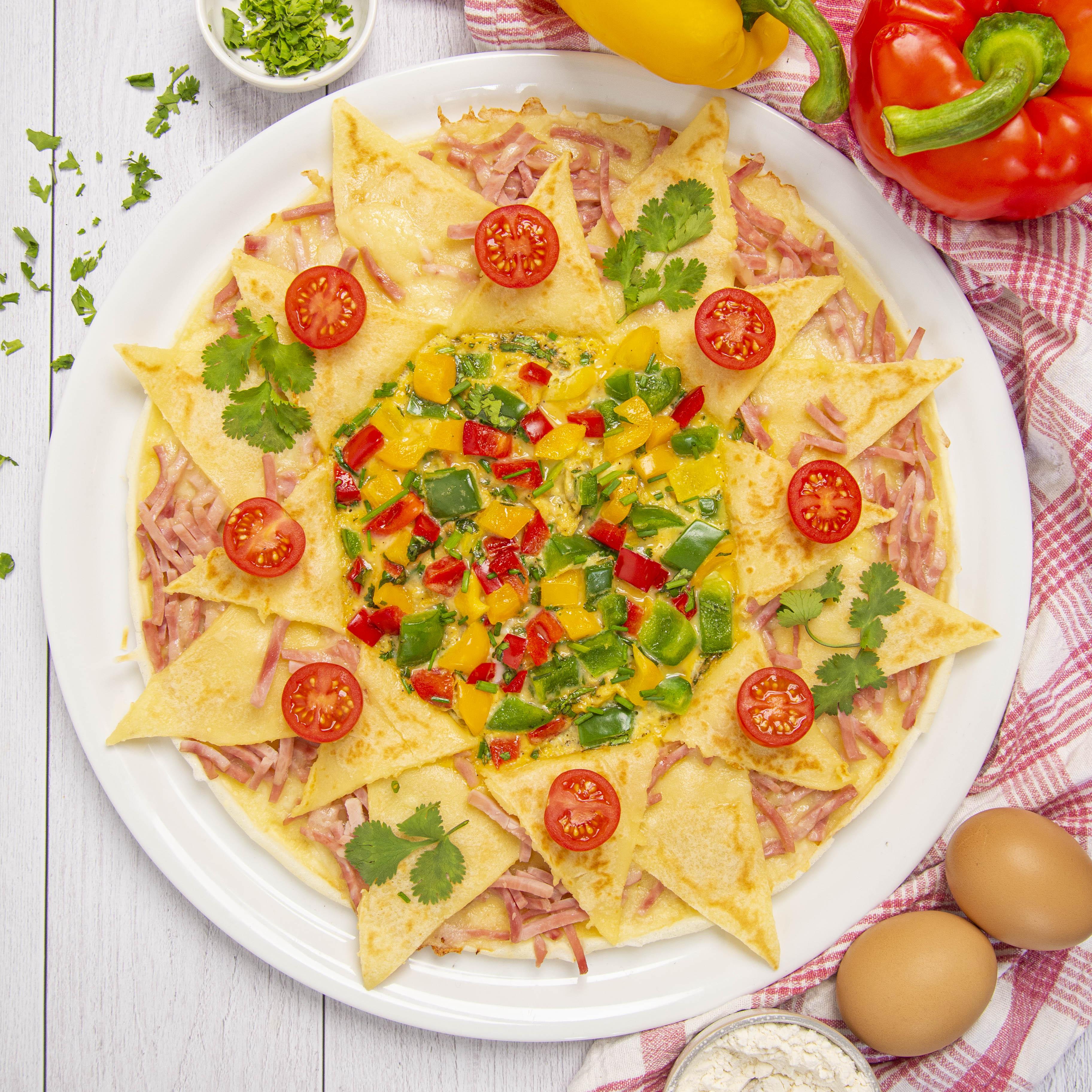La crêpe-omelette soleil
