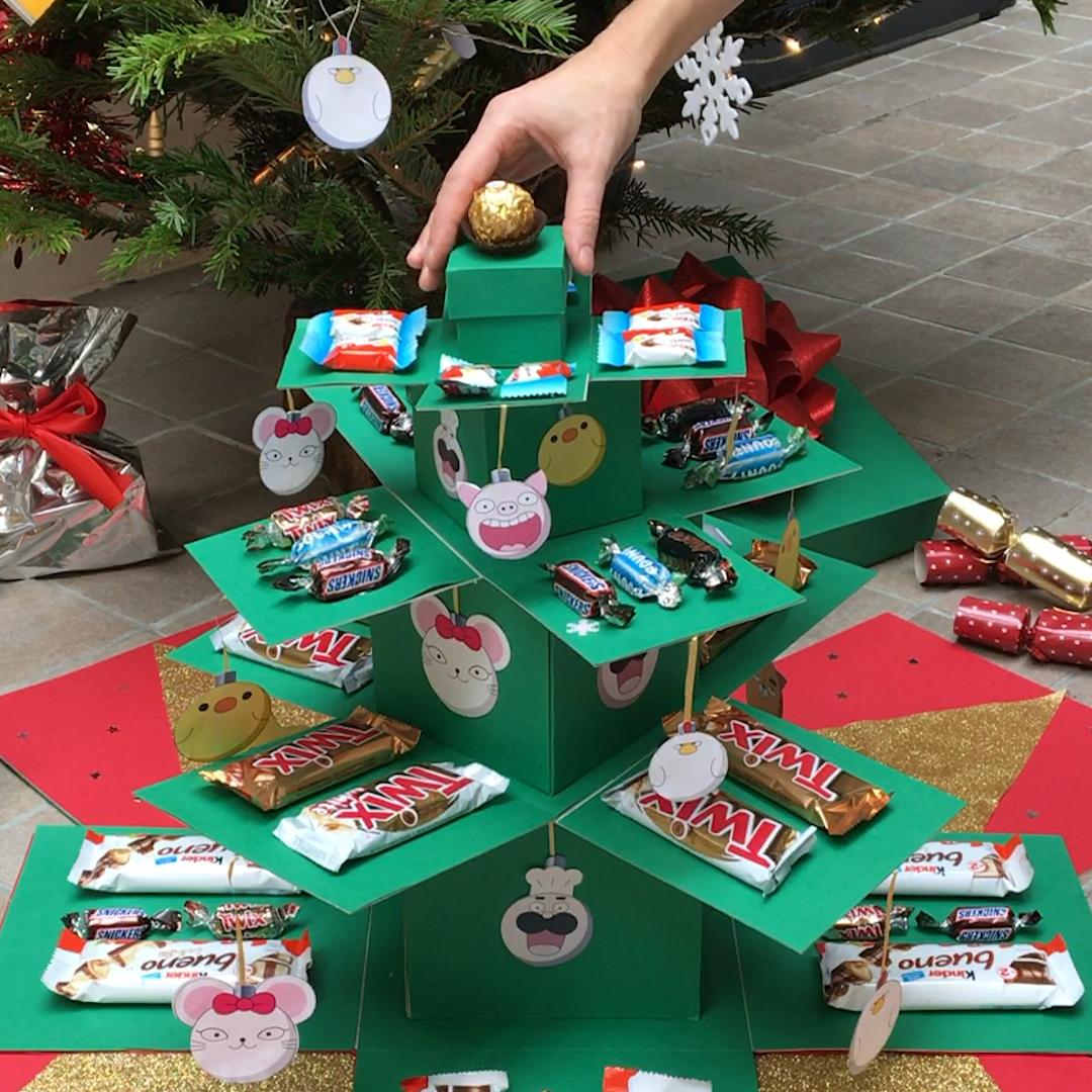 Construisez votre sapin de Noël surprise