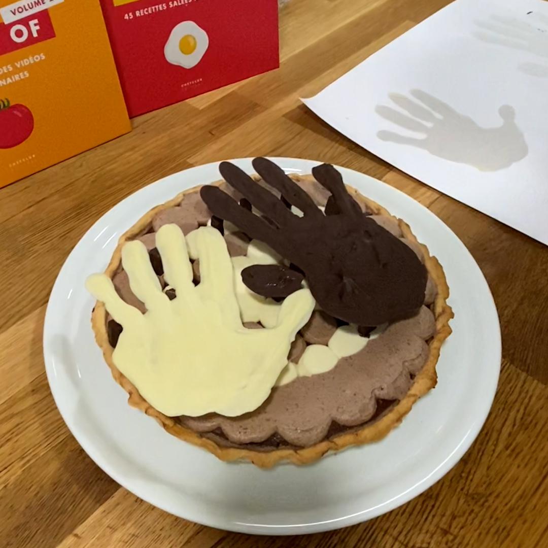 La tarte main-à-la-pâte