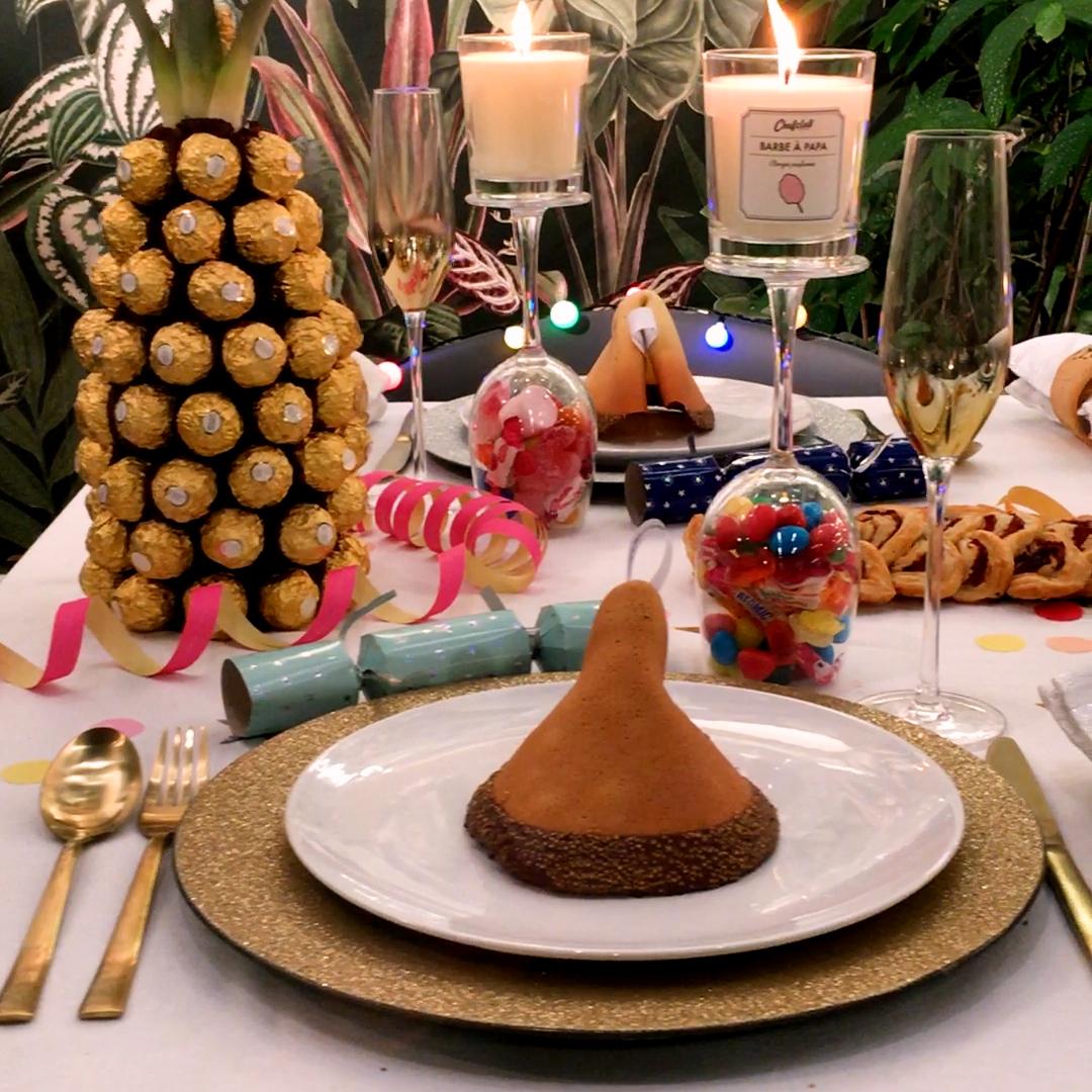 Silvester-Tisch