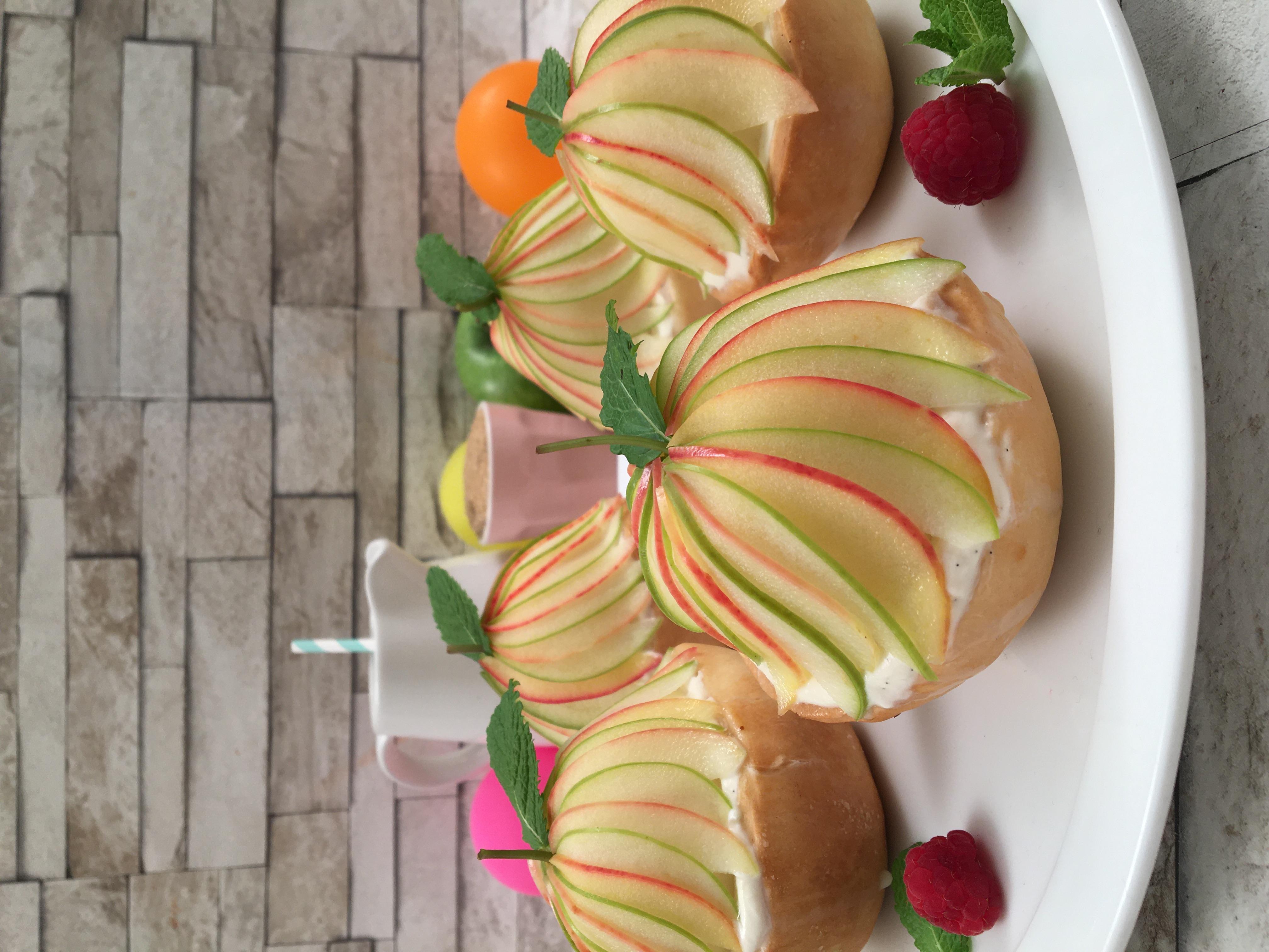 Manège tarte aux pommes