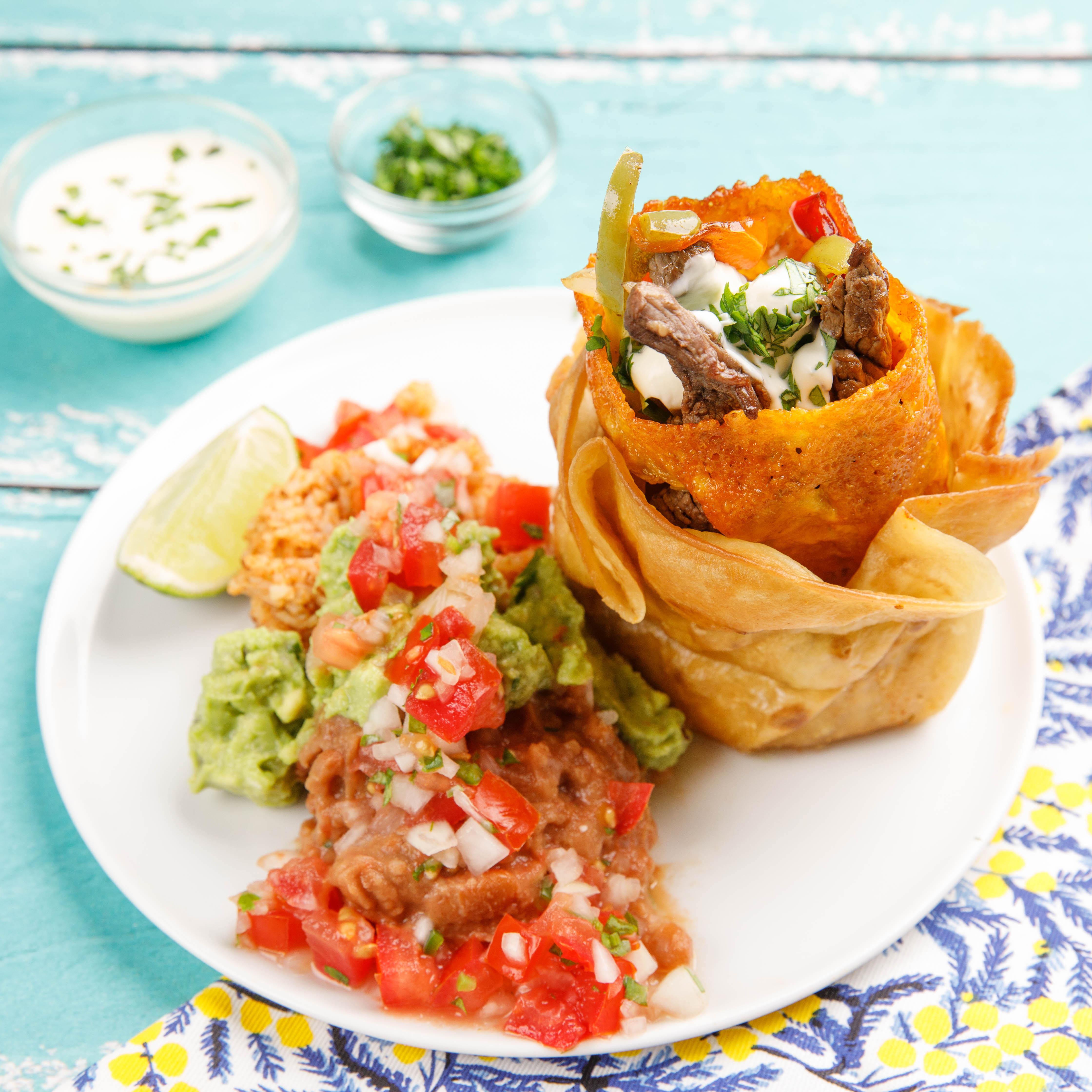 Burrito frito de carne