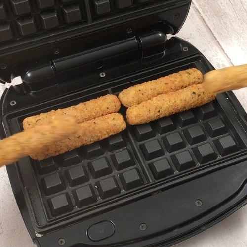 Mozzarella Waffle Dippers