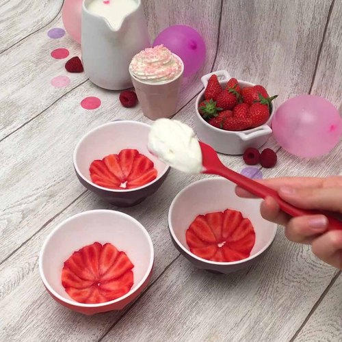 Mini tiramisu fraises