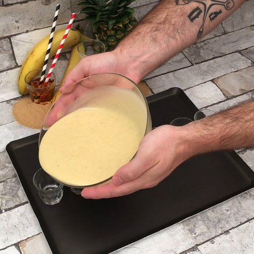 Rum Cake Cocktail