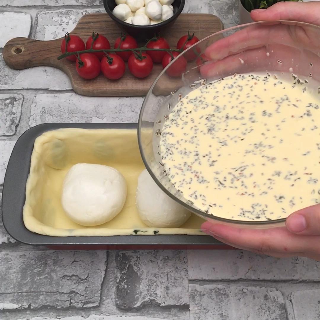 Cake Tomates Mozza Chefclub