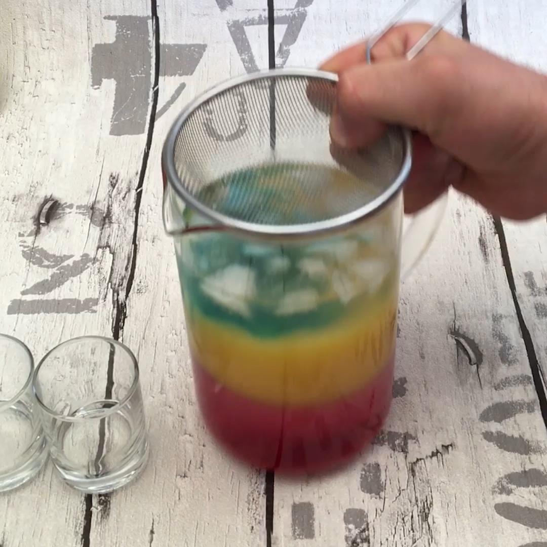 thumbnail Shots vodka arc-en-ciel