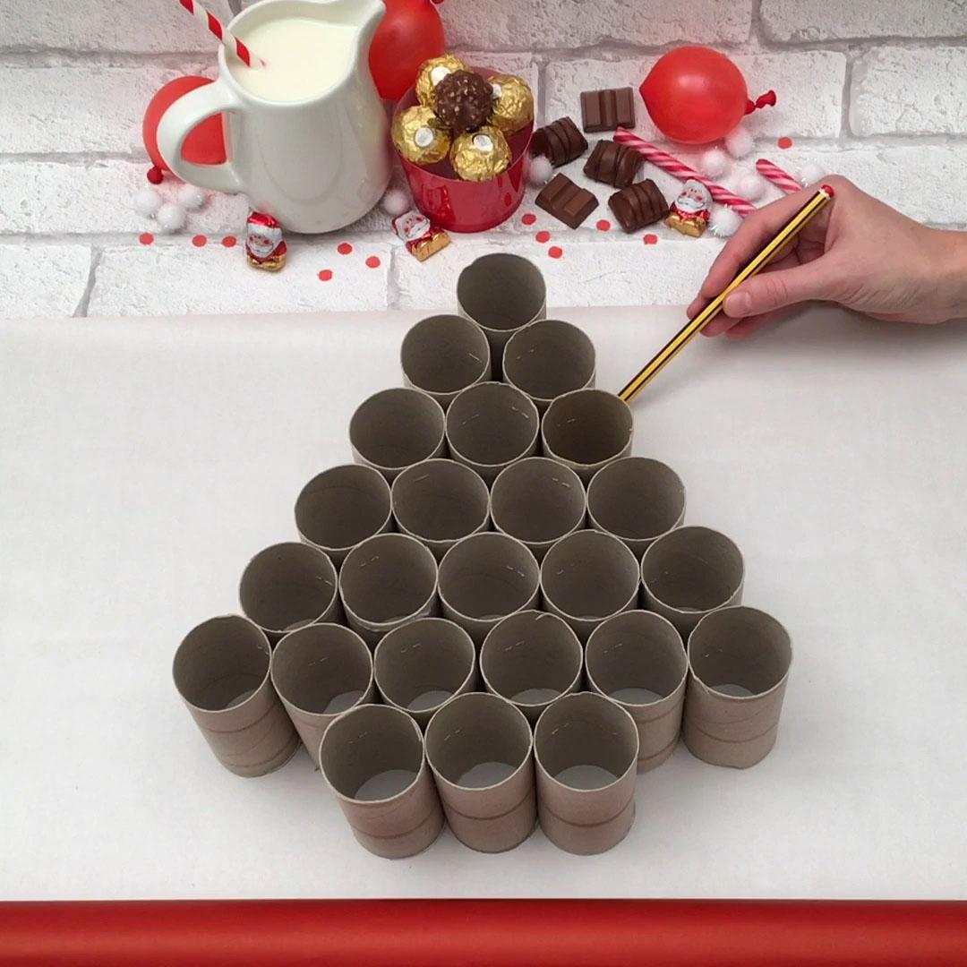 초콜릿 크리스마스 캘린더