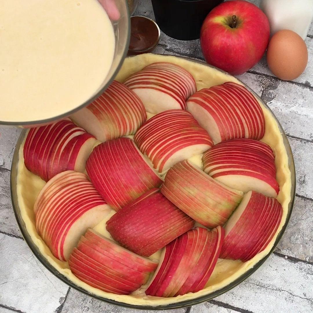 La tarte aux pommes méli-mélo