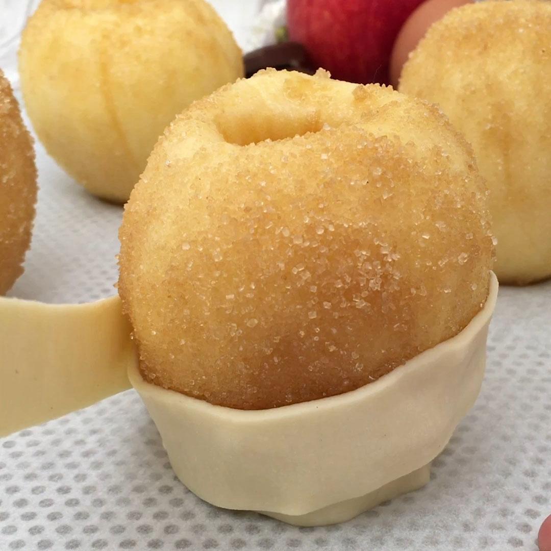 La pomme feuilletée