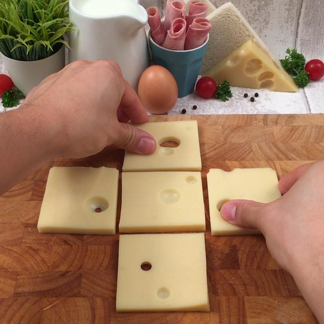 Le cube croque-monsieur