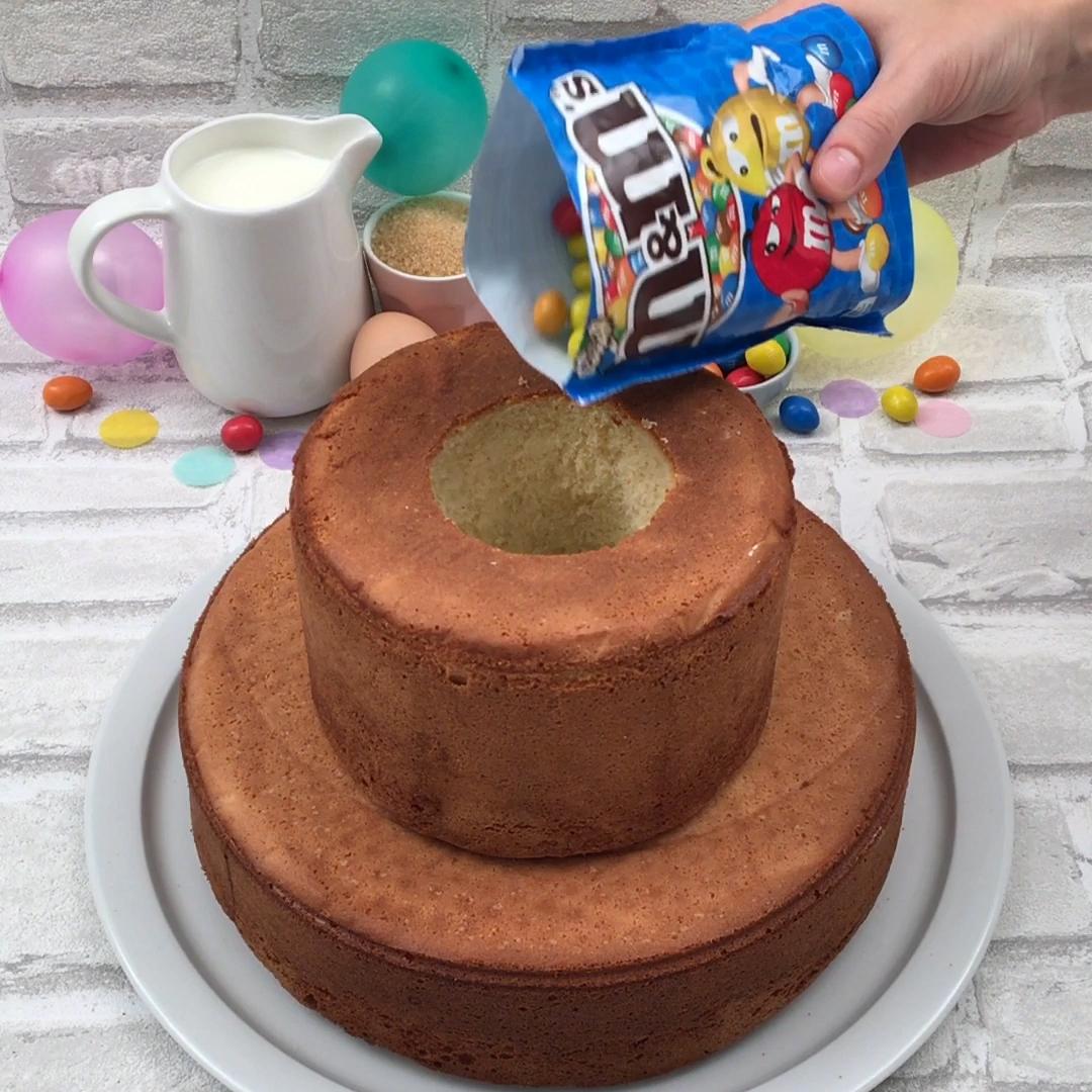 Gâteau qui dégouline
