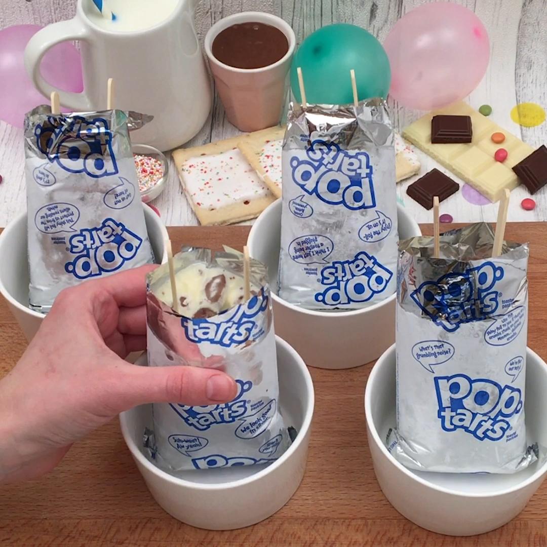 Pop-Tart Ice Cream!