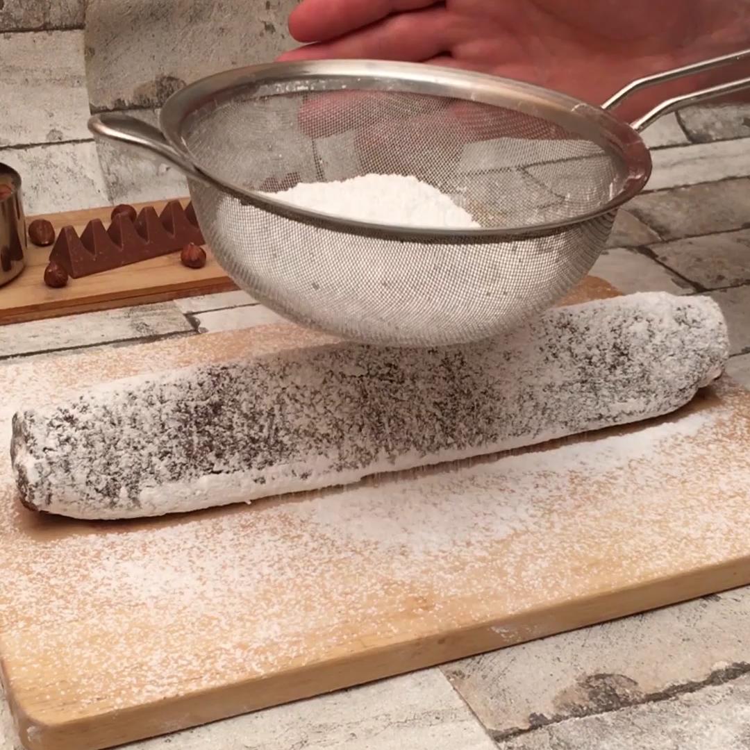 Salame di cioccolato Toblerone