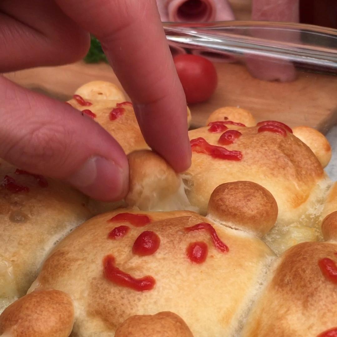 Pizzette orsetti