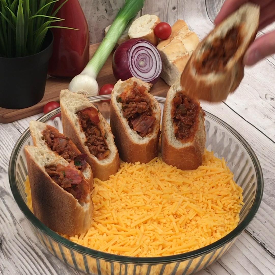 Apéro couronne sandwich