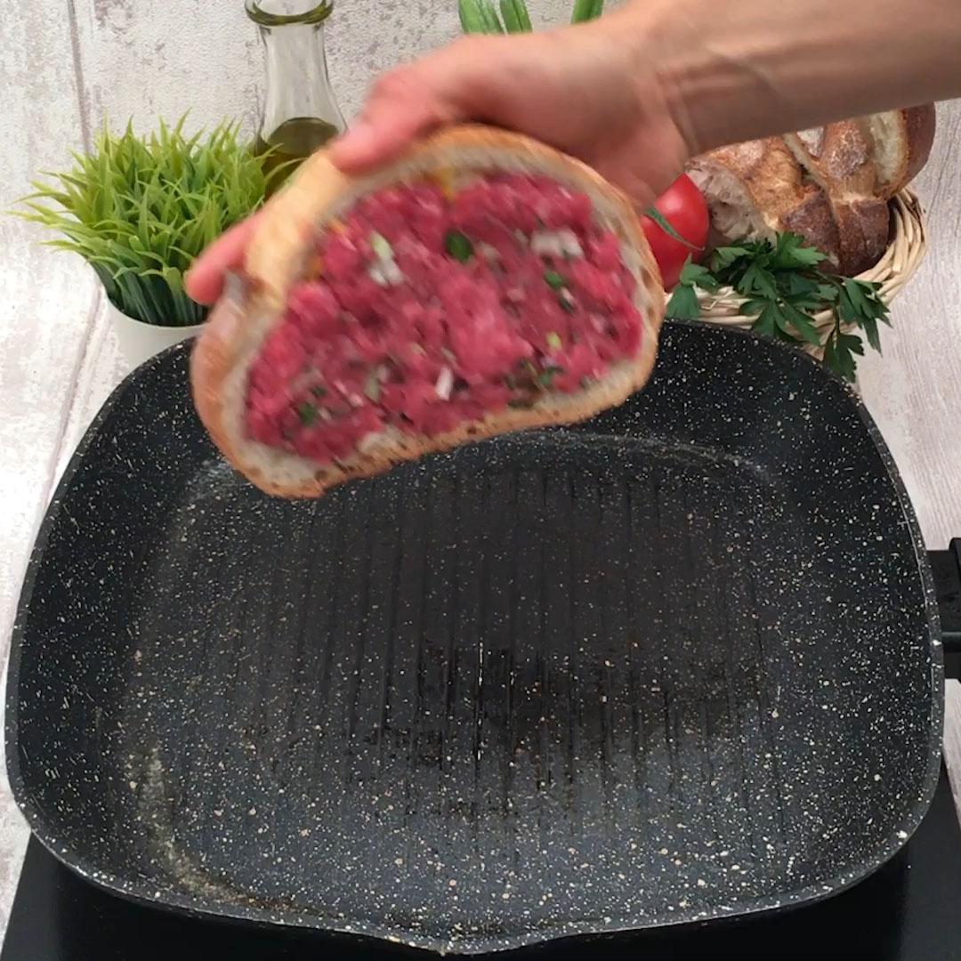 Burger-Toast!